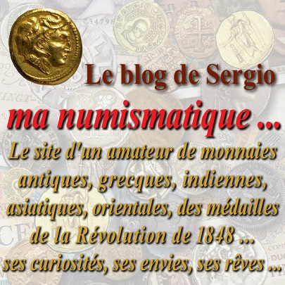 "Le blog de Sergio :  ""Ma Numismatique ..."""