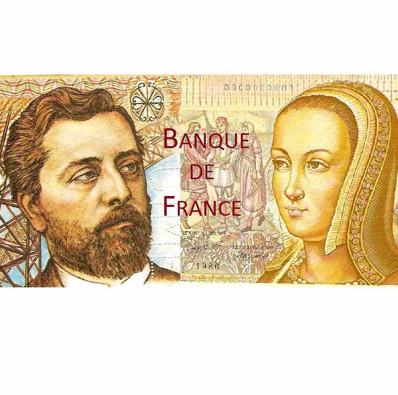 BDD Billets Banque de France