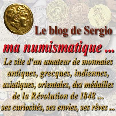 "Le blog de Sergio :  ""Ma Numismatique ..."""